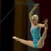 Platz 4 - Gymnastin mit Seil - Fotograf Dr. Herwig Hertel