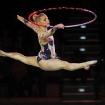 Platz 6 - Gymnastin mit Reifen - Fotograf Dr. Herwig Hertel