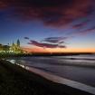 Sonnenaufgang (Sitges, Spanien)