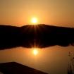 Sonnenuntergang Riedsee